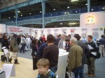 Various stands at the expo